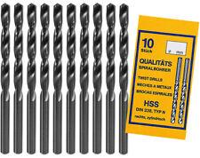 HSS Spiralbohrer Ø 0,3 - Ø 6,0mm Metallbohrer Typ N DIN 338 rechts zylindrisch