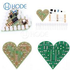 Heart Shape Breathing Lamp Kit DC 4V-6V Breathing LED Suite DIY newUK