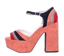 ORIGINALI  JEFFREY CAMPBELL CANDICE 2 SUEDE PINK Sandali scarpe donna JC-361-5