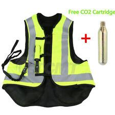 Airbag Motorcycle Airnest Air Bag Vest Hi Visibility w/ CO2 Cartridge Size L XXL