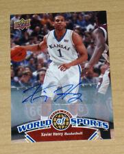 Upper Deck World/Sports Xavier Henry autograph #331