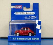Widea 1/87 Compact Car Series Morris Minor Drak Red