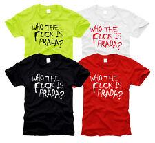 Who the bordeI is pra...??? - Messieurs-T-shirt, Taille S à XXL