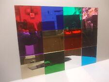 De color acrílico plaskolite Espejo Hoja 3mm De Espesor 600 mm x 400 mm 12 Colores