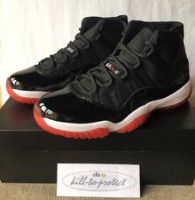 Nike Jordan 11 allevati Nero Rosso 6 7 8 9 10 11 12 13 + ricevuta 378037-010 OG 2012