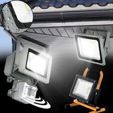 extérieur LED mur sol Lampadaire LUMIÈRES SPOT mobile Détecteur aluminium verre
