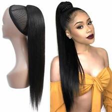 Remeehi Body Wave Brazilian Remy Human Hair Drawstring Clip In Hair Ponytail