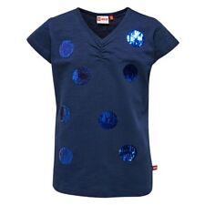 Lego Wear Niñas Camiseta lentejuelas azul talla 110 116 122 128 134 140 146 152