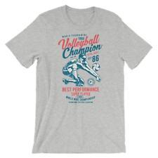 Volleyball Champion T-Shirt. 100% Cotton Premium Tee NEW