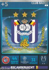 Adrenalyn XL Champions League 14/15 RSC Anderlecht alle Karten zum aussuchen