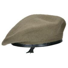 Highlander Military BERET Cap 100% Wool Breathable SAND