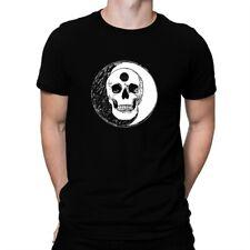 Ying Yang Skull T-shirt