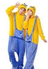 Halloween Kigurumi Pajamas Anime Cosplay Onesie Sleepwear Small Yellow People+