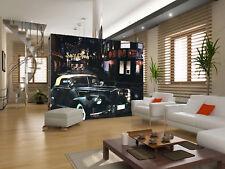 3D Nero Auto 54 Parete Murale Foto Carta da parati immagine sfondo muro stampa