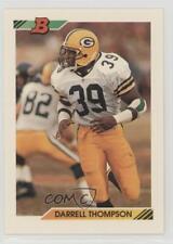 1992 Bowman #368 Darrell Thompson Green Bay Packers Football Card