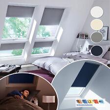 VELUX Verdunkelungsrollo DG im Slimline Design für VL VF VT alle Größen + Farben