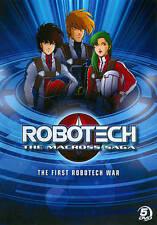 Robotech: Macross Saga - First Robotech War, Good DVD, Tony Oliver, Robert V. Ba