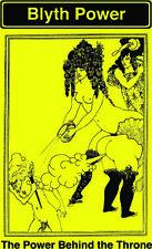 Blyth Power 'Power Behind the Throne' T-Shirt Yellow Ladies