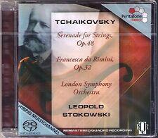 SACD Leopold STOKOWSKI: TCHAIKOVSKY Francesca da Rimini String Serenade LSO 1974