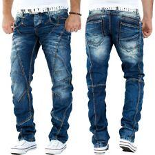 Cipo & Baxx Herren Jeans Dicke Naht Denim Mens Pants Hose Clubwear Freizeithose
