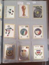 Panini calciatori Italia 90 WC scudetto Badge Ecusson Brasil Usa ecc new !