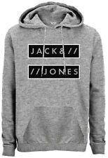 HOMMES JACK & JONES SWEAT CAPUCHE STYLE SUBMIT - GRIS