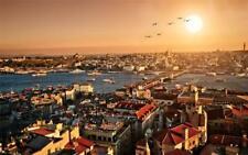 ISTANBUL SKYLINE GLOSSY POSTER PICTURE PHOTO turkey city marmara bosphorus 1243