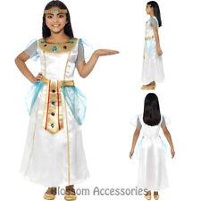 CK824 Deluxe Girl Cleopatra Roman Egyptian Pharaoh Book Week Fancy Dress Costume