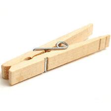 NUOVO in legno mollette clip PINO linea stendino stendibiancheria a secco linea legno Peg @