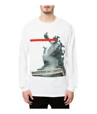 Black Scale Mens The Der Kopf LS Graphic T-Shirt