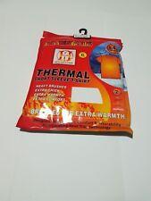 Da Uomo Invernali Termici isolanti termici manica corta T Shirt Canotta Bianco Caldo