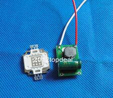 10W UV 365nm 395nm white Blue Green Cyan High Power LED + 10w Driver 900mA