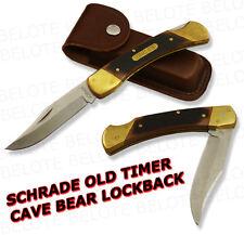 Schrade Old Timer DELRIN Cave Bear Lockback Knife 7OT