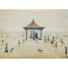 On the Sands Berwick on Tweed - L S Lowry Print