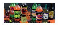 Halloween Bouteille Étiquettes Vin Pop Soda - Fête De Fournitures Décorations