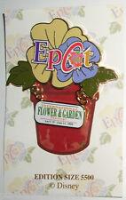 WDW Epcot Flower/Garden Festival 2000: Logo LE 5500 Pin