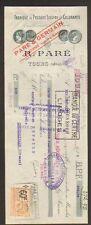 """TOURS (37) USINE de PRESURE LIQUIDE & COLORANTS """"R. PARE"""" en 1929"""