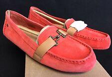 Ugg Australia Aven Hazard Orange Flat Loafers 1010100 Buckle Clasp Womens sizes