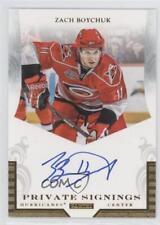 2010-11 Panini Luxury Suite Private Signings #ZB Zach Boychuk Auto Hockey Card