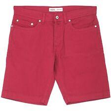 20318 PIERRE CARDIN kurze Herren Jeans Shorts Bermudas kirschrot