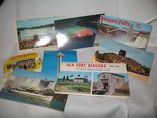 8 Vintage Post Cards Of Niagara Falls New York & Canada
