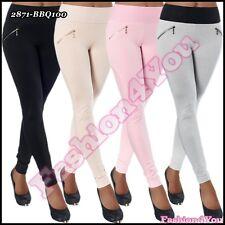 Women's tregging femme sexy leggings pantalons pantalon Skinny Taille UK 8,10,12,14