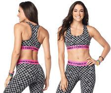 Zumba Dance Bold Scoop Bra - Heather Grey ~ size XS, Small, Large