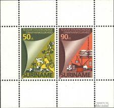 Surinam Block42 (kompl.Ausg.) postfrisch 1985 Unabhängigkeit EUR 3,60