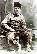Theodore Roosevelt Dakota  President Rough Rider Cowboy Bull Moose Big Stick