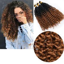 Curly Pre Loop Twist Crochet Braids Synthetic Braiding Hair Extensions 10% Human