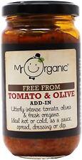 Mr Organic Add-In Tomato & Olive 190g