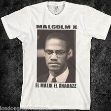 Malcolm X T-shirt, MLK, Ferguson, Mike Brown, Nelson Mandela, new, black history