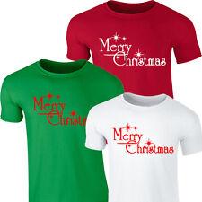 MERRY CHRISTMAS CLASSIC T-SHIRT TOP TSHIRT XMAS SANTA FESTIVE ELF GIFT PARTY