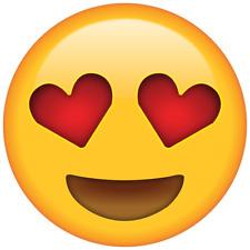 Bügelbild Bügeltransfer Aufbügler Love Herz Emoji 15 A4 o DIN A5 alle Stoffe